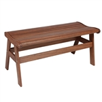Jensen Amber Backless Bench