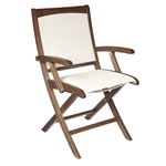Jensen Topaz Folding Sling Arm Chair
