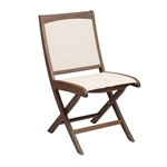 Jensen Topaz Folding Sling Side Chair