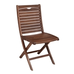 Jensen Topaz Folding Side Chair