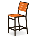 Polywood Euro Counter Side Chair