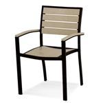 Polywood Euro Dining Arm Chair