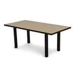 "Polywood Euro 36"" x 72"" Dining Table"