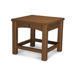 "Polywood Club 18"" Side Table"