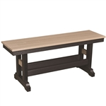 "Berlin Gardens Garden Classic 44"" Counter Height Bench"