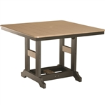 "Berlin Gardens 44"" Sq Garden Classic Bar Table"