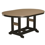 "Berlin Gardens 64"" Oval Garden Classic Bar Table"