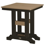 "Berlin Gardens 28"" Sq Garden Classic Dining Table"