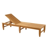 Kingsley Bate Amalfi Adj. Poolside Chaise Lounge w/Wheels