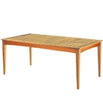 "Kingsley Bate Amalfi 73"" x 38"" Rect. Dining Table"