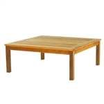 "Kingsley Bate Classic 43.5"" Sq. Coffee Table w/Umbrella Hole"