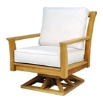 Kingsley Bate Chelsea Deep Seating Swivel Rocker Lounge Chair