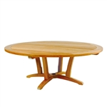 "Kingsley Bate Chat Table 55"" Rd. Chat Table w/Umbrella Hole"