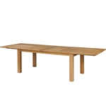 "Kingsley Bate Hyannis 118"" x 39"" Rect. Extension Table w/Fold-Away Leaves"