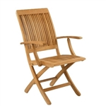 Kingsley Bate Monterey Dining Armchair (Folding)