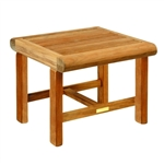 "Kingsley Bate Nantucket 21"" Sq. Side Table"