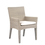 Kingsley Bate Paris Dining Arm Chair with Cushion