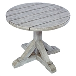 "Kingsley Bate Provence 24"" Rd Side Table-Gray Wash"