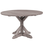 "Kingsley Bate Provence 59"" Rd Dining Table-Gray Wash"