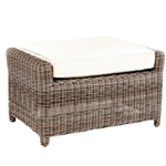Kingsley Bate Sag Harbor Deep Seating Ottoman
