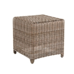 "Kingsley Bate Sag Harbor 19.5"" Sq. Side Table / Stool"