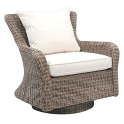 Kingsley Bate Sag Harbor Deep Seating Swivel Rocker Lounge Chair