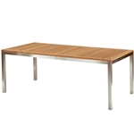 "Kingsley Bate Tiburon 76"" x 38"" Rect. Dining Table"
