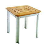 "Kingsley Bate Tivoli 17.5"" Sq. Side Table"