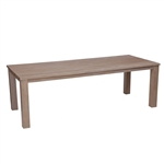 "Kingsley Bate Tuscany 73"" x 40"" Rect Dining Table"