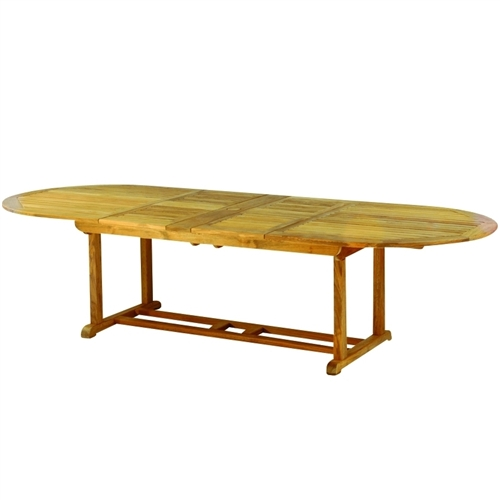 Kingsley Bate Essex 114 X 45 Oval Extension Dining Table W Fold Away Leaves