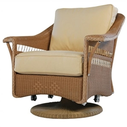 Lloyd Flanders Nantucket Swivel Glider