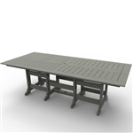 "Malibu Beaumont 43"" x 96"" Dining Table"