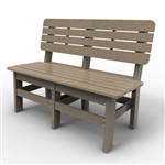 "Sister Bay Country 48"" Bench"