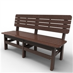 "Sister Bay Country 60"" Bench"