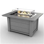 Sister Bay Rectangle Fire Pit Table