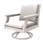 Sister Bay Maywood Swivel Rocker