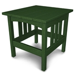 "Polywood Mission 22"" x 24"" Side Table"