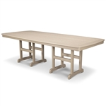 "Polywood Nautical 44"" x 96"" Dining Table"