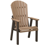 Berlin Gardens Comfo Back Deck Chair