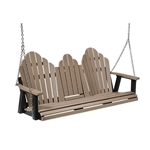 Berlin Gardens Cozi Three Seat Swing with Console