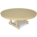 "Polywood Round 48"" Conversation Table"