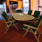 Royal Teak 5 Piece Estate Folding Set