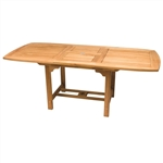 "Royal Teak 96/120"" Rectangle Extension Table"