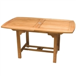 "Royal Teak 60/78"" Rectangle Extension Table"