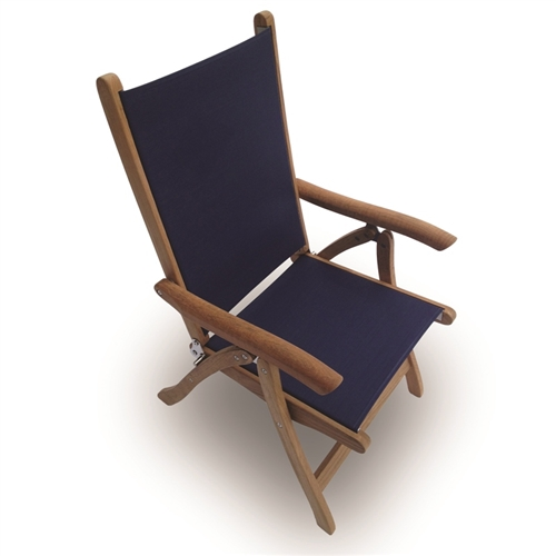Royal Teak Florida Sling Chair Larger Photo Email A Friend
