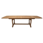 Royal Teak  64/80/96 Rectangle Extension Table