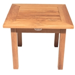 "Royal Teak Miami 20"" Sq End Table"