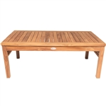 "Royal Teak Miami 43 "" Rectangle Coffee Table"