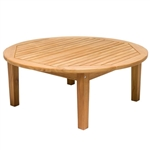 "Royal Teak Miami 42"" Round Chat Table"
