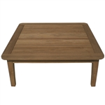 "Royal Teak Miami 42"" Square Chat Table"